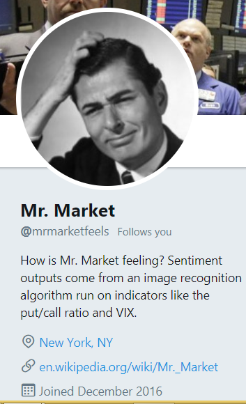 Erratic Mr. Market