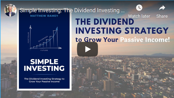 Youtube thumbnail of the Simple Investing Book