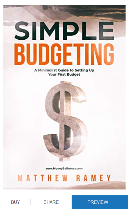 Book Cover of the Simple Budgeting book