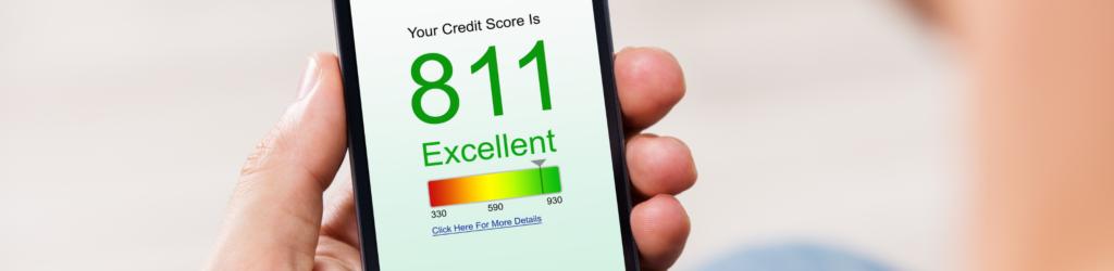 Explicação da faixa de pontuação de crédito da FICO 3